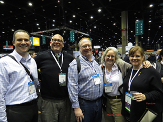 Group of alumni at the 2015 Alumni Tailgate 2015 ASLA conference