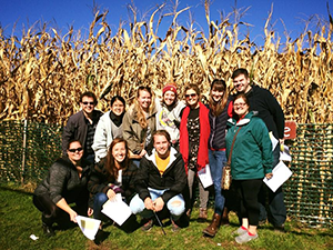 2016 picture of WSPA with cornmaze in the background