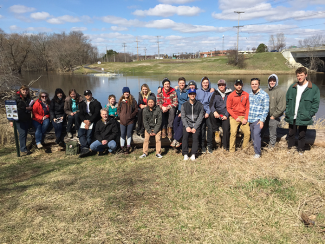 Group photo of LA451 students in Spring 2017