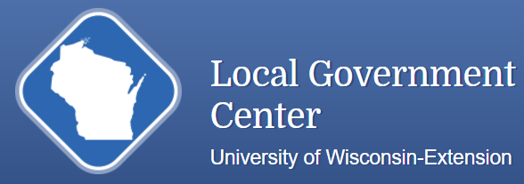 Logo for the Local Government Center from the University of Wisconsin-Extension