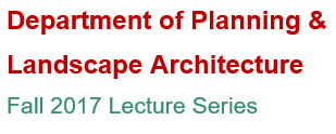 Fall Lecture Series announcement