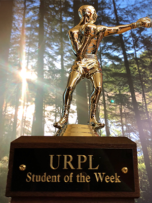 URPL trophy closeup